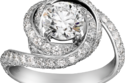 خاتم خطوبة من Cartier