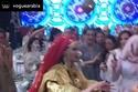 فستان زفاف هناء عبد السلام المصنوع من الذهب الخالص يحدث ضجة