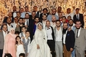 مصطفى خاطر يحتفل بزفاف شقيقته