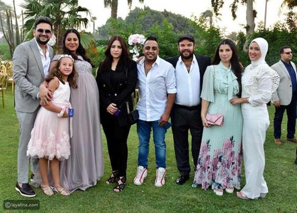 زفاف شقيقة مصطفى خاطر