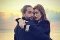 الفنانة السورية ديمة بياعة وزوجها أحمد الحلو