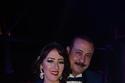 المنتج المصري عمرو مكين مع زوجته الفنانة التونسية سناء يوسف