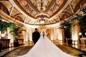 فستان زفاف غنوة زين الدين ملكة جمال العرب في أمريكا لعام 2014