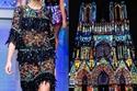 مجموعة دولتشي آند غابانا  2012 مستوحاة من  كاتدرائية نوتردام دي ريمس