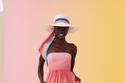 فستان متتدرج اللون من مجموعة zimmermann ريزورت 2022