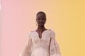 فستان نود من مجموعة zimmermann ريزورت 2022