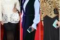 استلهمي إطلالات مميزة في رمضان من أزياء النجمة منى عبد الغني وتنسيق ملابسها الأنيقة