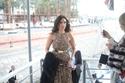 زينة في افتتاح مهرجان الأقصر للسينما