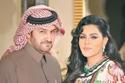 الفنانة الإماراتية أحلام وزوجها بطل الراليات القطري مبارك الهاجري