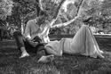 الأمير هاري وميغان ماركل خلال الحمل
