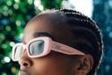 نظارات شمسية باللون الوردي من Blumarine