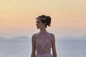 فستان لافندر مطرز من مجموعة Luisa Beccaria هوت كوتور شتاء 2021
