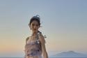 فستان وردي منفوش من مجموعة Luisa Beccaria هوت كوتور شتاء 2021