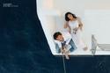 حنان مطاوع وزوجها في جلسة تصوير رومانسية تحبس الأنفاس