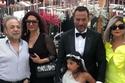 ابنة ماجد المصري تشعل عرس شقيقها بفستانها ورقصتها الغريبة مع شيماء سيف