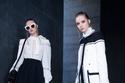 أزياء باللون الأسود والأبيض من مجموعة إيلي صعب لخريف 2021