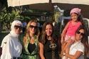 ريم البارودي وشقيقة زينة مع بعض الحضور