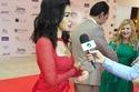 ميرهان حسين في لقاء من مهرجان الاعلام العربي