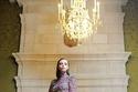 فستان سهرة أرجواني مطرز من مجموعة زياد نكد هوت كوتور شتاء 2021