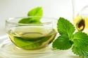 الشاي الأخضر النعناع