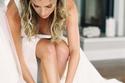 موديلات أحذية زفاف بكعب عريض