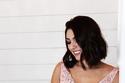 فساتين خطوبة وردية اللون لسهرات شهر التوعية بسرطان الثدي