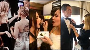 لقطات لم تُعرض بحفل Oscars 2020.. هكذا تصرف المشاهير خلف الكاميرات