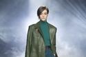 إطلالة بدرجات مختلفة من اللون الأخضر من Alberta Ferretti
