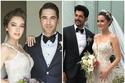 صور اتهام فهرية أفجان بتقليد فستان زفاف ناصيلهان أتاجول: فمن الأجمل؟