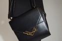 حقيبة Mount Crossbody باللون الأسود من Bottega Veneta