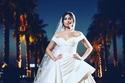 هاجر أحمد بفستان زفاف منفوش من زهير مراد