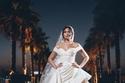 هاجر أحمد بفستان زفاف من زهير مراد