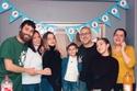 سيشكين اوزديمير يحتفل بالسنة الجديدة مع عائلته