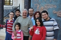 أيمن زيدان وعائلته