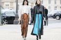 أجمل أزياء الشارع من أسبوع الموضة في باريس