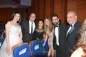 عبير صبري بفستان يشبه فستان الزفاف بحفل السينما العربية