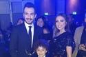 أنغام وزوجها من حفل مهرجان الفضائيات العربية