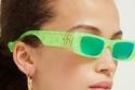 Gucci تطلق مجموعة  نظارات شمسية باللون النيون مناسبة للنساء والرجال