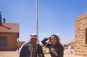 ريا أبي راشد بجولتها السياحية في العلا بصحراء السعودية