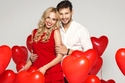 أوقات رومانسية بين الزوجين في عيد الحب