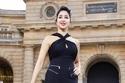 أسيل عمران تطل كعارضة أزياء  بأسبوع باريس للموضة بعرض لوريال