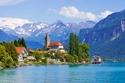 شهر العسل في سويسرا - مباني قديمة