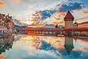 شهر العسل في سويسرا - جسر شابل الشهير على بحيرة لويزرن