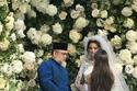لقطة من زفاف الروسية أوكسانا فويفودينا إلى ملك ماليزيا