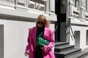 تنسيق البليزر الواسع الـ Oversized الفساتين الكاجوال