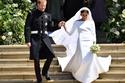 بلغ سعر فستان زفاف ميغان ماركل 270  ألف دولار أمريكي