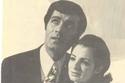 محمود ياسين مع زوجته شهيرة