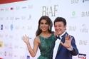 نادين الراسي في حفل بياف في فستان من تصميم زياد نكد