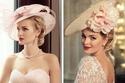 بالصور: استبدلي طرحة الزفاف بقبعة