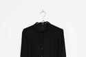 """قميص أسود شيفون من """"Bershka"""""""